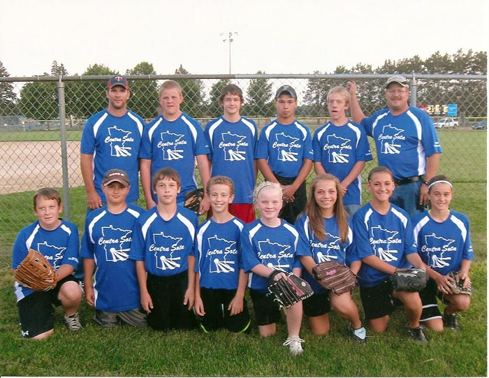 Chris Baron Little League Team Picture